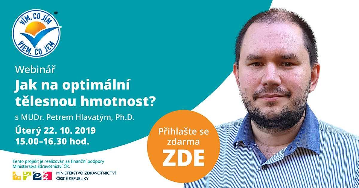 MUDr. Petr Hlavatý, Ph.D. webinář