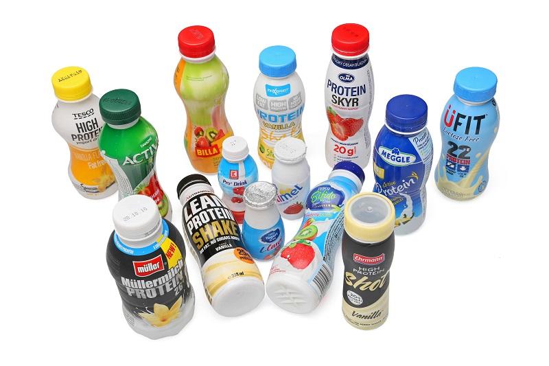 Srovnání mléčných výrobků. S živou kulturou či proteinem. Ale hlavně s cukrem