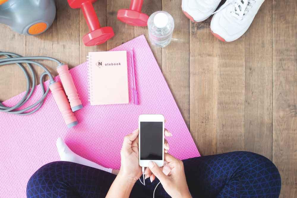 Test mobilních aplikací podporující zdraví, pohyb a relaxaci