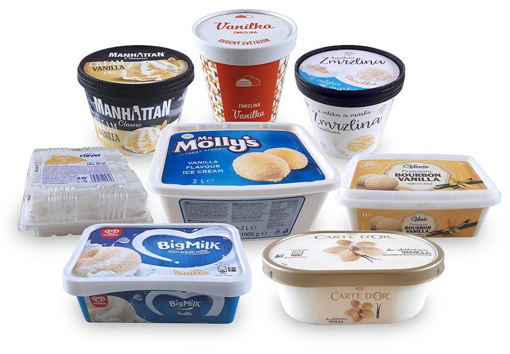 Test vaničkových zmrzlin I. díl - vanilková